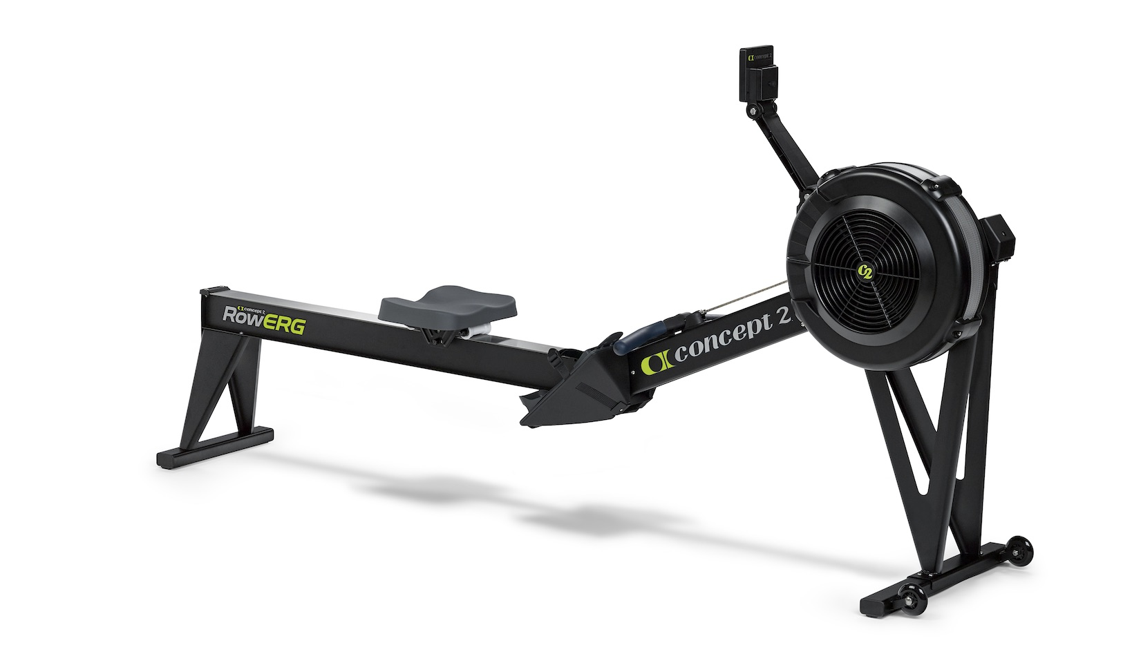 RowErg with 20 inch seat height side profile