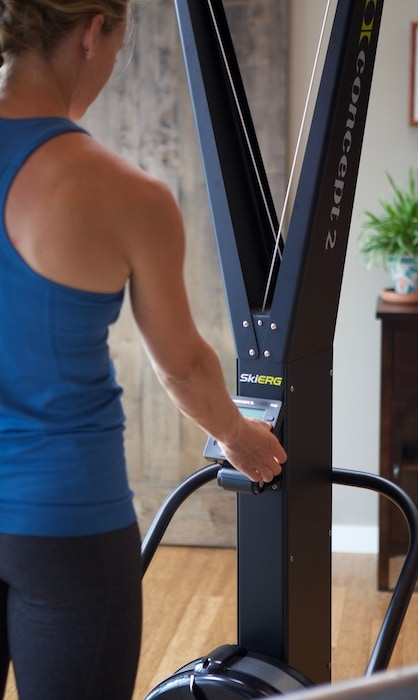 using skierg for a no impact workout and full body. Black Bedroom Furniture Sets. Home Design Ideas